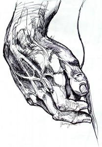 Statue of David Replica Hand I