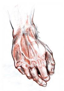 Statue of David Replica Hand II
